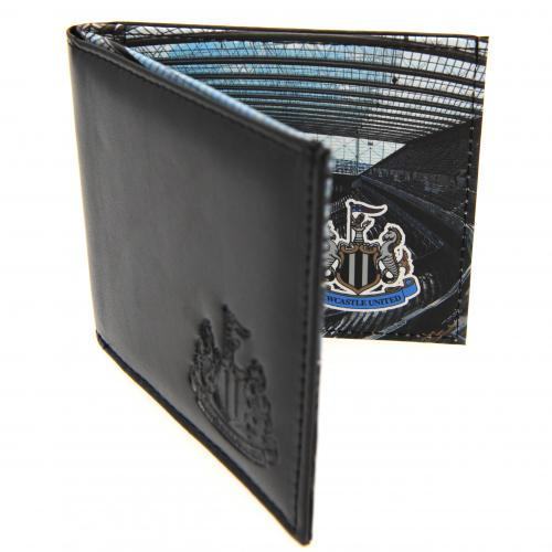 Newcastle United F.C. Leather Wallet Panoramic 801