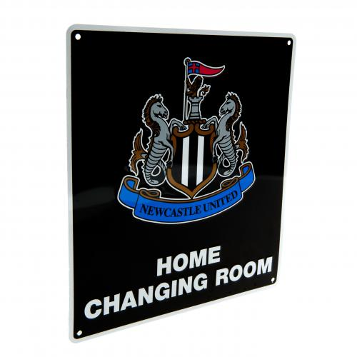 Newcastle United F.C. Home Changing Room Sign
