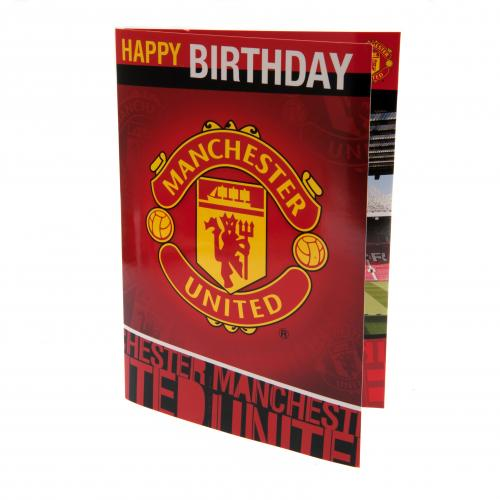 Manchester United F.C. Musical Birthday Card
