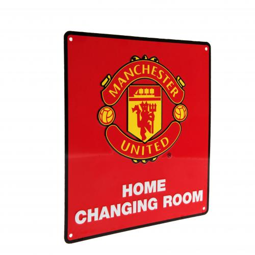 Manchester United F.C. Home Changing Room Sign
