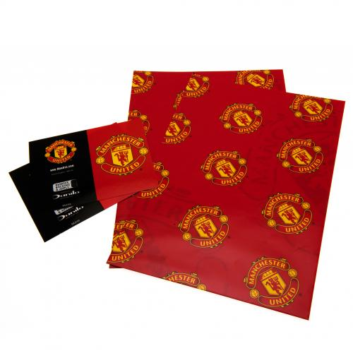 Manchester United F.C. Gift Wrap