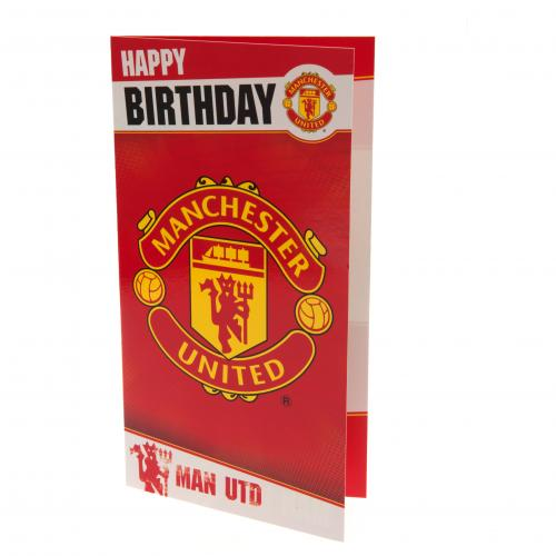 Manchester United F.C. Birthday Card WR