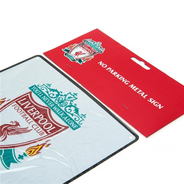 Liverpool F.C. No Parking Sign