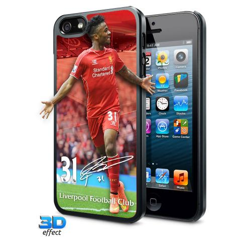 Liverpool F.C. iPhone 5 / 5S Hard Case 3D Sterling