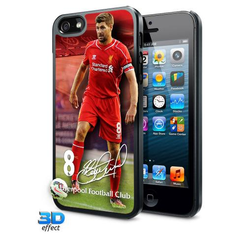 Liverpool F.C. iPhone 5 / 5S Hard Case 3D Gerrard