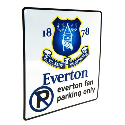 Everton F.C. No Parking Sign