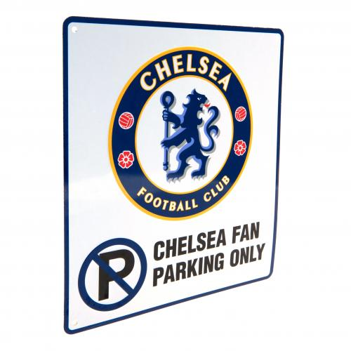 Chelsea F.C. No Parking Sign