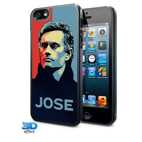 Chelsea F.C. iPhone 5 / 5S Hard Case 3D Mourinho