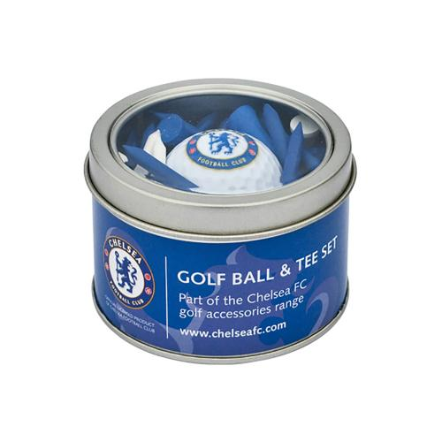 Chelsea F.C. Ball and Tee Set
