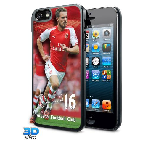 Arsenal F.C. iPhone 5 / 5S Hard Case 3D Ramsey