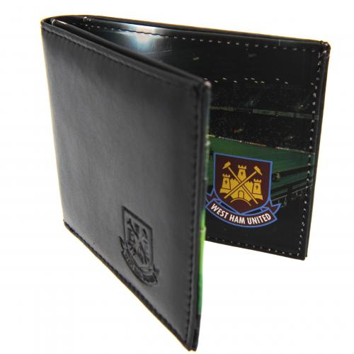 West Ham Utd F.C. Leather Wallet Panoramic 801