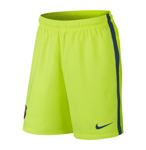 2014-2015 Barcelona Third Nike Football Shorts (Kids)