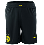 2014-2015 Borussia Dortmund Home Puma Shorts (Black) - Kids