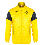 2014-2015 Borussia Dortmund Puma Leisure Jacket (Yellow) - Kids