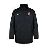2014-2015 Man City Nike Medium Fill Jacket (Black)