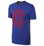2014-2015 Man Utd Nike Covert Tee (Blue)