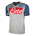 2014-2015 Napoli Official Polyester T-Shirt (Grey)