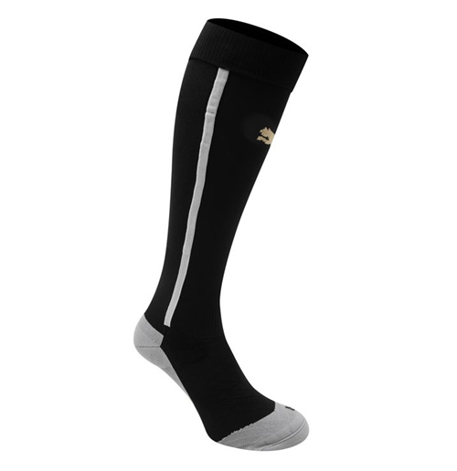 2014-2015 Newcastle Home Football Socks (Black) - Kids