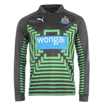 2014-2015 Newcastle Home Goalkeeper Shirt (Black)