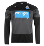 2014-2015 Newcastle Puma Sweatshirt (Black) - Kids