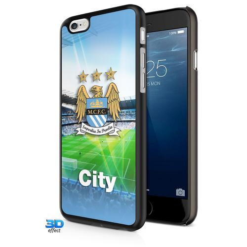 Manchester City F.C. iPhone 6 Hard Case 3D