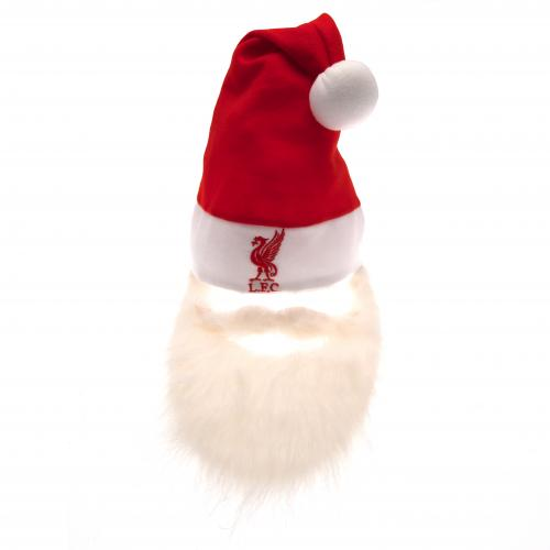 Liverpool F.C. Santa Hat & Beard