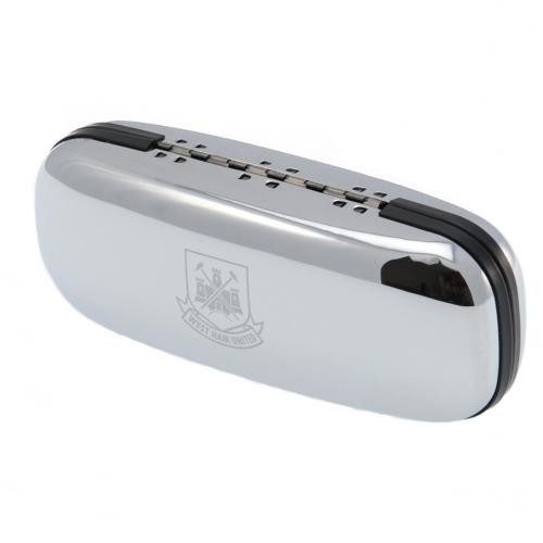 West Ham United F.C. Chrome Glasses Case