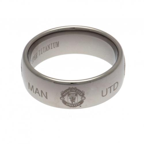 Manchester United F.C. Super Titanium Ring Large
