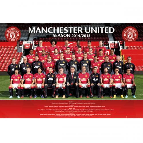 Manchester United F.C. Poster Squad 84