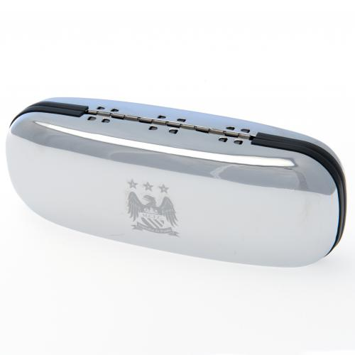 Manchester City F.C. Chrome Glasses Case