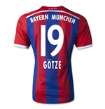 2014-15 Bayern Munich Home Shirt (Gotze 19) - Kids