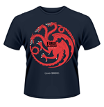 Game of Thrones T-Shirt Fire and Blood navy