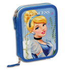 PRINCESS double filled pencil case