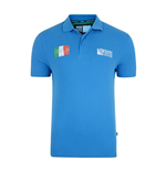 Italy Rwc 2015 Polo Shirt (blue)