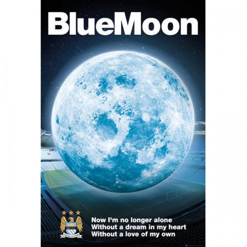 Manchester City F.C. Poster Blue Moon 105