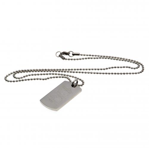 Birmingham City F.C. Engraved Crest Dog Tag & Chain