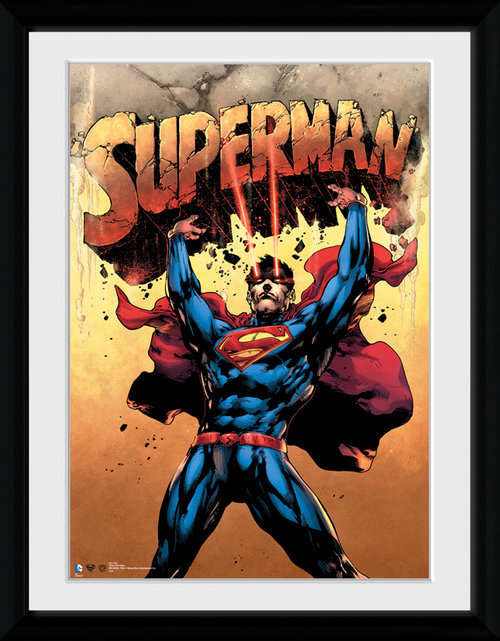 Superman Strength Framed Collector Print