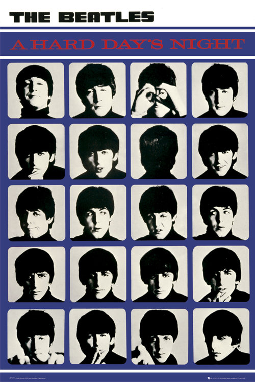 The Beatles A Hard Day's Night Maxi Poster