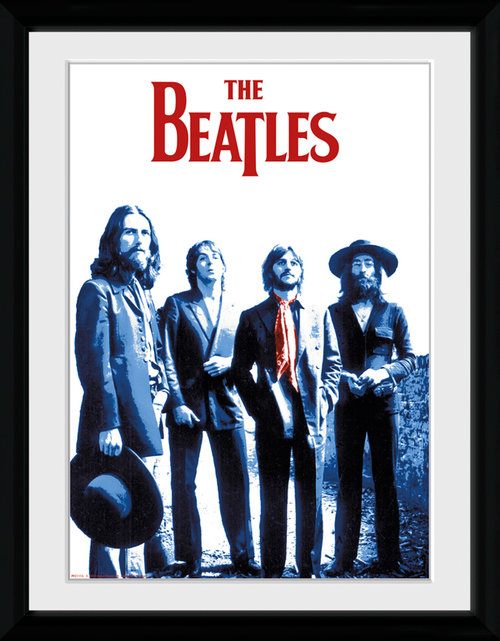 The Beatles Red Scarf Collector Print