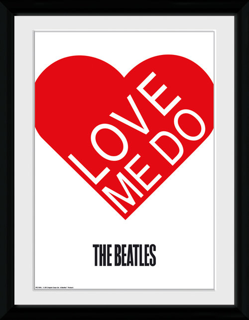 The Beatles Love Me Do Collector Print