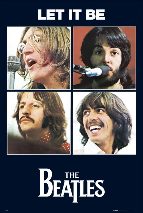 The Beatles Let It Be Maxi Poster