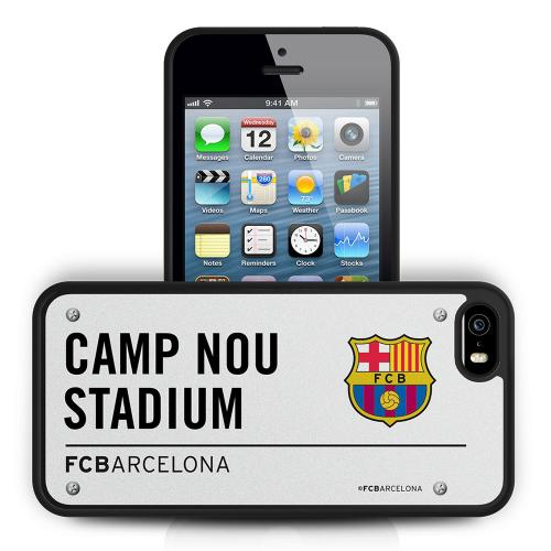 F.C. Barcelona iPhone 5 / 5S Hard Case 3D SS