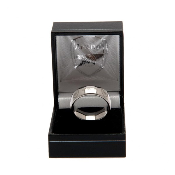 Arsenal F.C. Super Titanium Ring Small