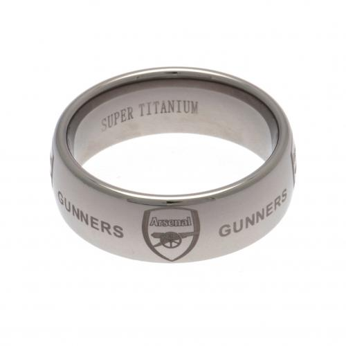 Arsenal F.C. Super Titanium Ring Large