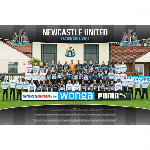 Newcastle United F.C. Poster Squad 98