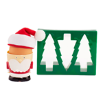 Santa Egg Cup & Toast Cutter