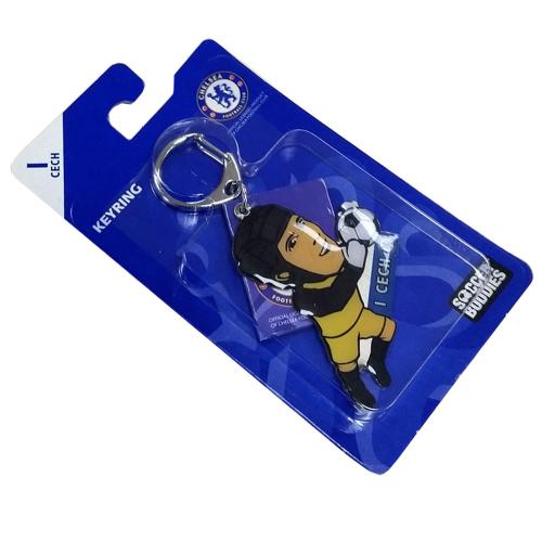 Chelsea F.C. Metal Keyring Cech