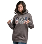 Sons Of Anarchy Sweatshirt Flag