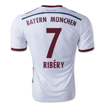 2014-15 Bayern Munich Away Shirt (Ribery 7)
