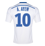 2014-15 Marseille Home Shirt (A.Ayew 11) - Kids